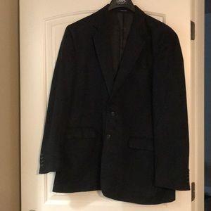 Chaps Black suede Sports Coat 44L